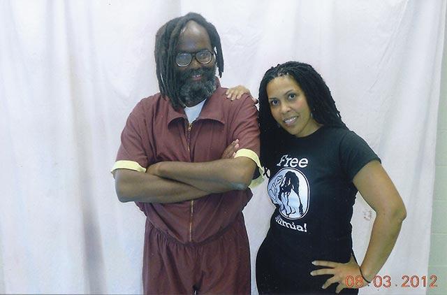 Mumia Abu-Jamal and Johanna Fernández.