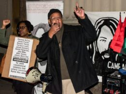 Rally for justice for Mumia Abu-Jamal