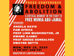 2020-11-16 Press Conference for Mumia Abu-Jamal