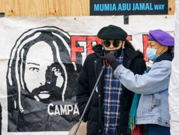 Wadiya Jamal and Pam Africa Speak on December 9, 2020.