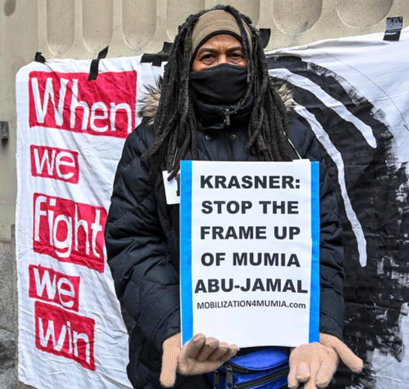 Krasner: Stop the Frame Up of Mumia Abu-Jamal