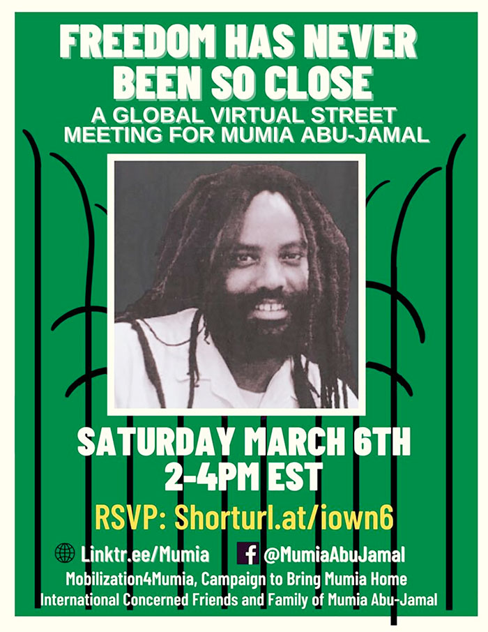 Meeting for Mumia