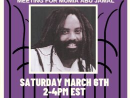 March 6, 2021, Town Hall for Mumia