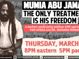 March 18, 2021, forum on Mumia Abu-Jamal