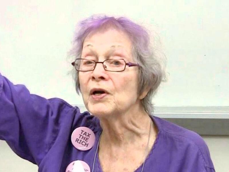 Frances Goldin, Presente!