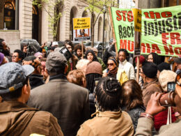 Rally for Mumia Abu-Jamal.